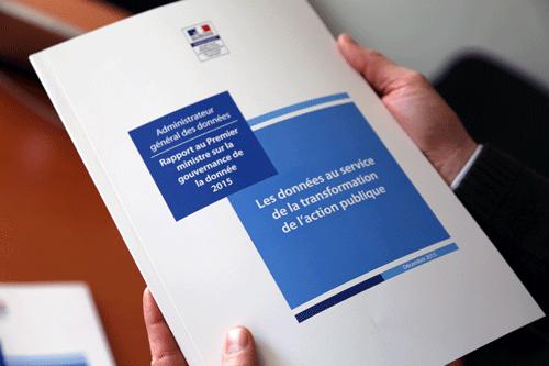 Rapport annuel 2015: mettre les données au service de la transformation de l'action publique